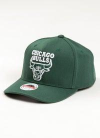 Mitchell & Ness NBA Chicago Bulls Clear Field Snapback Cap