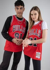 Mitchell & Ness NBA Chicago Bulls 'Dennis Rodman' Swingman Jersey