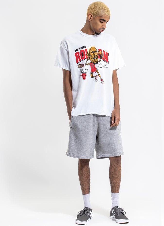 Mitchell & Ness NBA Chicago Bulls 'Dennis Rodman' Vintage Tee