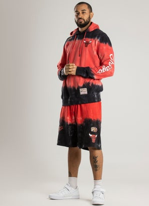 Mitchell & Ness NBA Chicago Bulls Tie Dye Hoodie