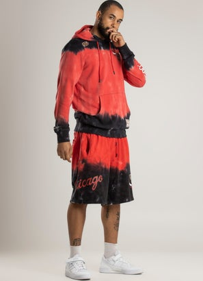Mitchell & Ness NBA Chicago Bulls Tie Dye Terry Short