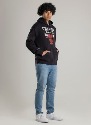 Mitchell & Ness NBA Chicago Bulls Vintage Age Fade Logo Hoodie