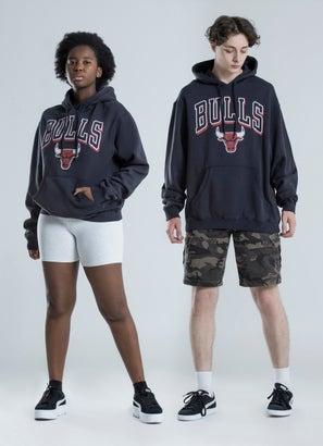 Mitchell & Ness NBA Chicago Bulls Vintage Keyline Hoodie