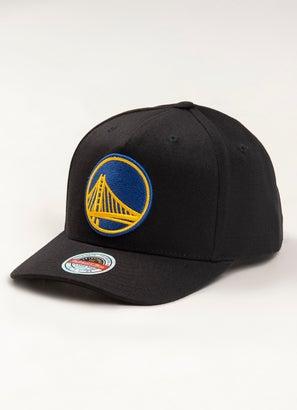 Mitchell & Ness NBA Golden State Warriors Classic Red 110 Snapback Cap