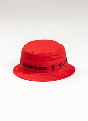 Mitchell & Ness NBA Las Vegas Raiders Bucket Hat