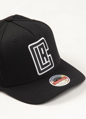 Mitchell & Ness NBA Los Angeles Clippers Classic Red 110 Snapback Cap