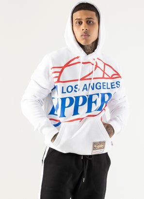 Mitchell & Ness NBA Los Angeles Clippers Substainial Fleece Hoodie