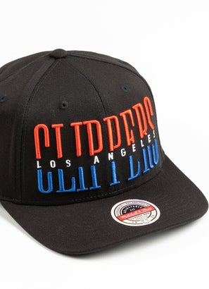 Mitchell & Ness NBA Los Angeles Clippers Word Stack Classic Cap