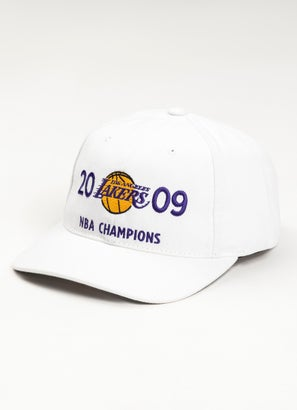 Mitchell & Ness NBA Los Angeles Laker Finals History Deadstock Snapback Cap