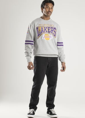 Mitchell & Ness NBA Los Angeles Lakers All Over Crew