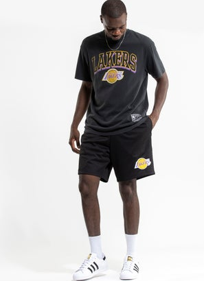 Mitchell & Ness NBA Los Angeles Lakers Basic Mesh Court Short