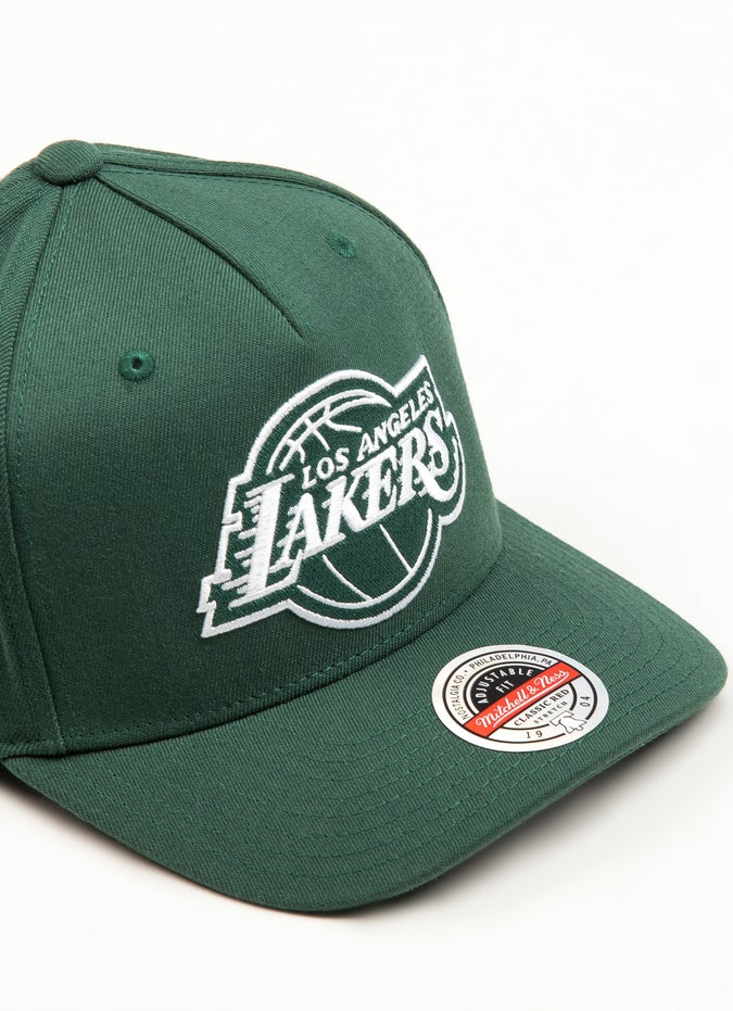 Mitchell & Ness NBA Los Angeles Lakers Clear Field Snapback Cap