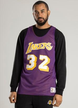 Mitchell & Ness NBA Los Angeles Lakers 'Magic Johnson' Reversible Tank