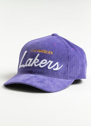 Mitchell & Ness NBA Los Angeles Lakers Montage Deadstock Cap