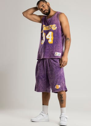 Mitchell & Ness NBA Los Angeles Lakers Quintessential Acid Short