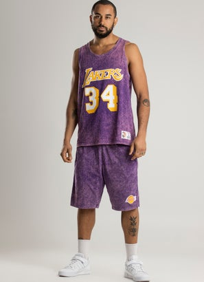 Mitchell & Ness NBA Los Angeles Lakers 'Shaquille O'Neal' Acid Tank
