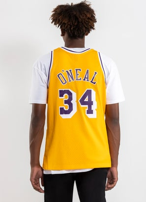 Mitchell & Ness NBA Los Angeles Lakers 'Shaquille O'Neal' Swingman Jersey