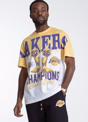 Mitchell & Ness NBA Los Angeles Lakers Sublimated Champs Tee