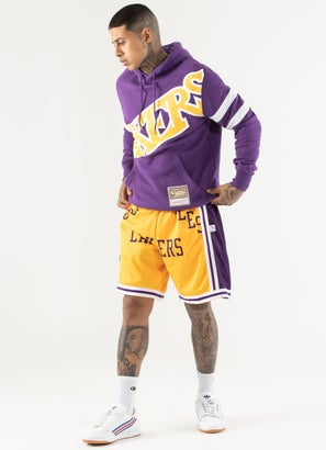 Mitchell & Ness NBA Los Angeles Lakers Substainial Fleece Hoodie