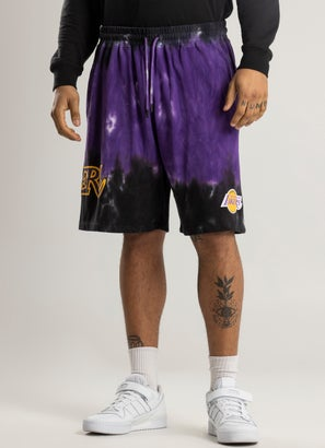 Mitchell & Ness NBA Los Angeles Lakers Tie Dye Terry Short