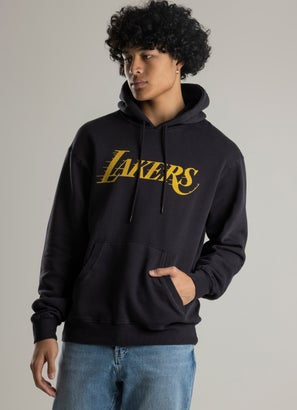 Mitchell & Ness NBA Los Angeles Lakers Vintage Age Fade Logo Hoodie