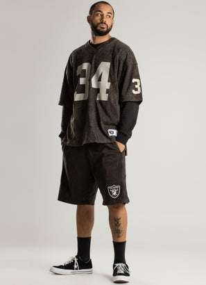 Mitchell & Ness NBA Los Angeles Raiders Quintessential Acid Short