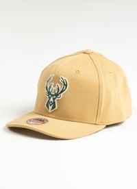 Mitchell & Ness NBA Milwaukee Bucks Classic Line Snapback Cap