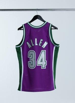 Mitchell & Ness NBA Milwaukee Bucks Shooting Shirt Swingman