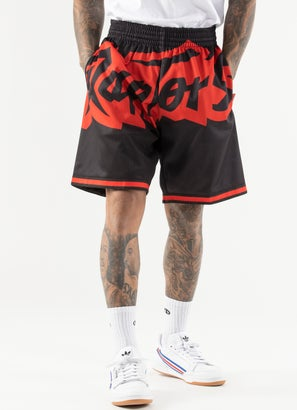 Mitchell & Ness NBA Toronto Raptors Blown Out Shorts