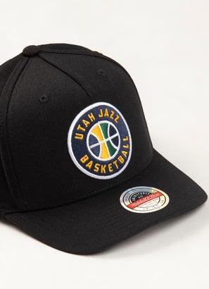 Mitchell & Ness NBA Utah Jazz Classic Red 110 Snapback Cap