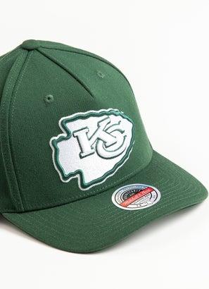 Mitchell & Ness NFL Kansas City Chiefs Clear Field Snapback Cap