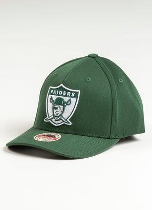 Mitchell & Ness NFL Las Vegas Raiders Clear Field Snapback Cap