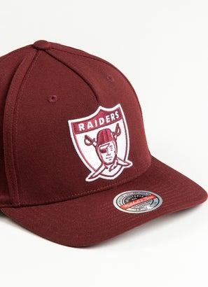 Mitchell & Ness NFL Las Vegas Raiders Crimson Sector Snapback Cap