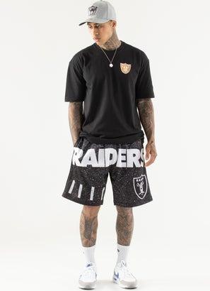 Mitchell & Ness NFL Las Vegas Raiders Jumbotron Sublimated Shorts