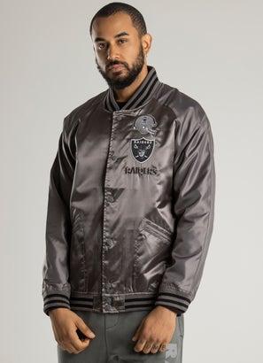 Mitchell & Ness NFL Las Vegas Raiders Metal Work Jacket