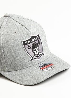 Mitchell & Ness NFL Las Vegas Raiders Team Heather Snapback Cap