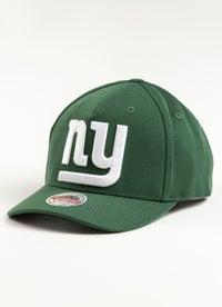 Mitchell & Ness NFL New York Giants Clear Field Snapback Cap