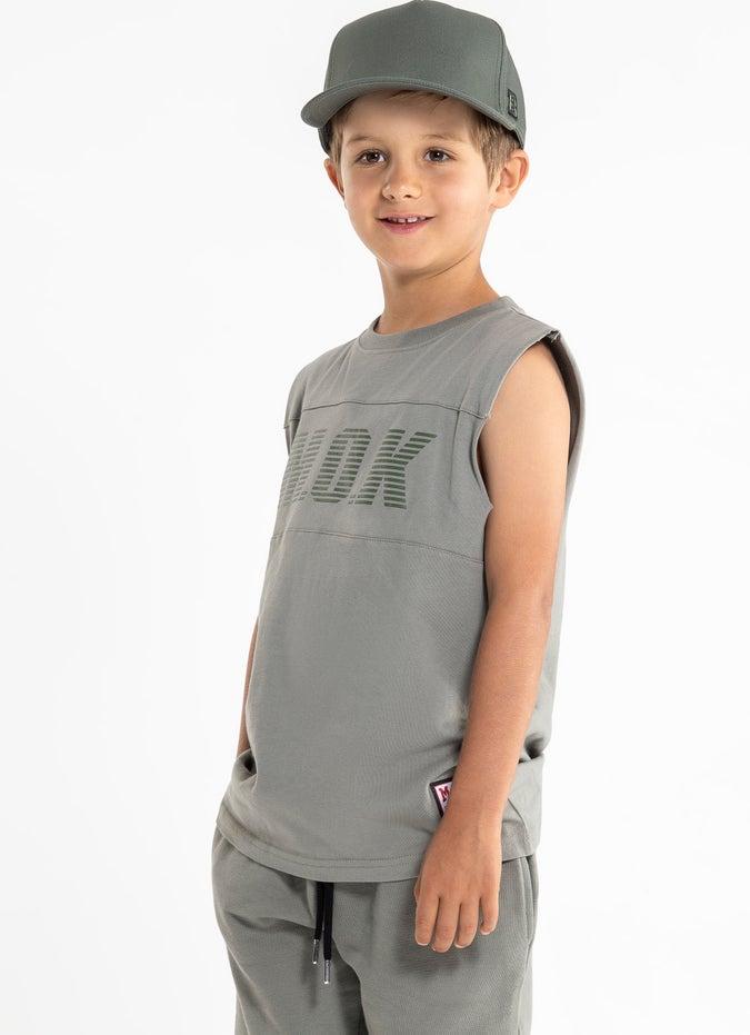 M.O.K Banner Singlet - Kids
