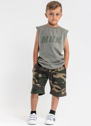M.O.K Camo Fuelled Shorts - Kids