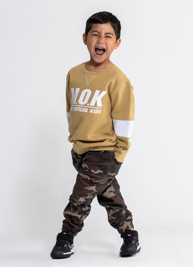 M.O.K Camo Joggers - Kids