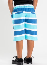 M.O.K Navy Stripe Short - Kids