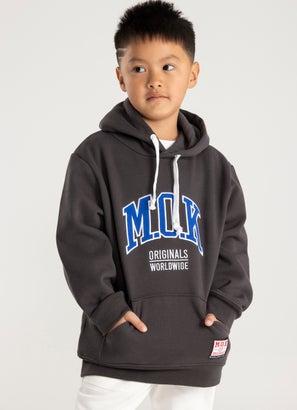 M.O.K Varsity Plush Hoodie