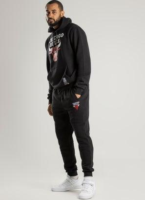 NBA Chicago Bulls Team Logo Slimfit Trackpants