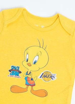 NBA Looney Tunes Lakers Cutest Tweety Creeper - Baby