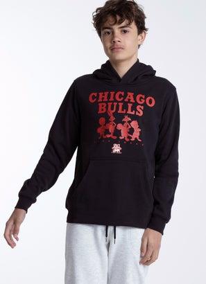 NBA Loony Tunes Bulls Monotone Fleece Hoodie - Youth