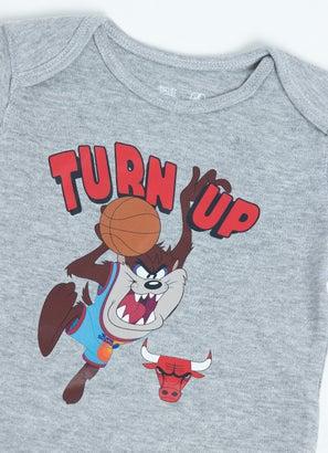 NBA Looney Tunes Bulls Taz Turn Up Creeper - Baby