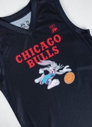 NBA Loony Tunes Bulls Team Slam Dunk Mesh Tank - Youth