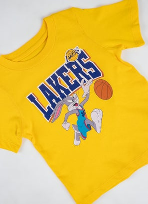 NBA Loony Tunes Lakers Big Time T-Shirt -Toddlers