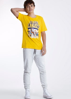 NBA Loony Tunes Lakers Tunes On Court T-Shirt - Youth