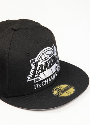 New Era 5950 NBA Los Angeles Lakers Multi Champ Cap